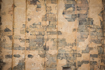 Papiers peints Vieux mur texturé sale The old Brick wall