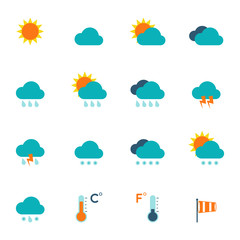 Weather Icons Flat