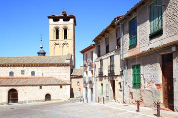 Wall Mural - Old street in Segovia