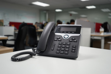 voice over IP phone at office