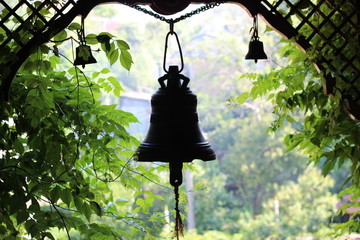 The bell in Buddhist temple