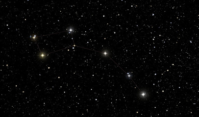 North Star in constellation of Ursa Minor