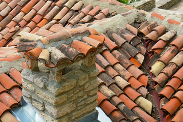 tile roof, Bulgaria