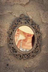 Old Vintage Mirror