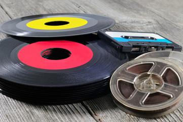 Old sound storage medium