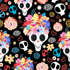 The beautiful of skulls