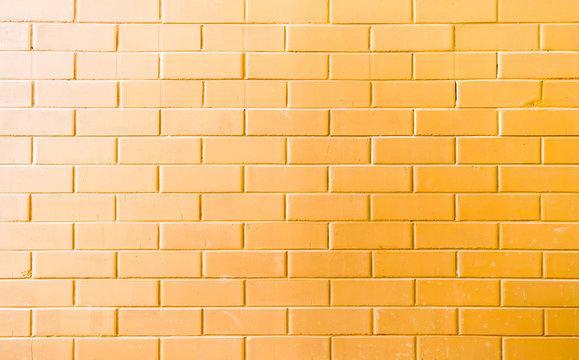 Yellow brick background