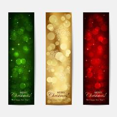 Shiny Christmas cards