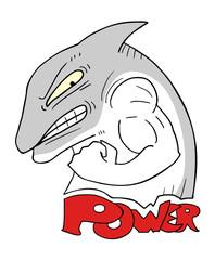 power shark illustration