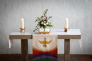 christliche Trauung in der Kirche