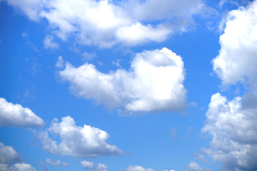 다양한 구름의 모습