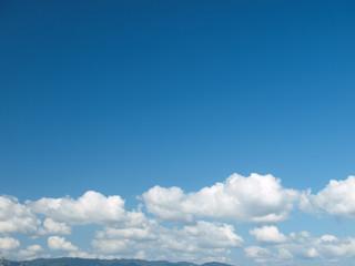 青空と積雲