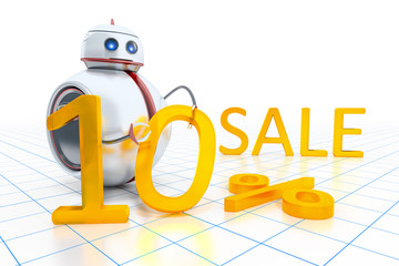 sweet little robot sale
