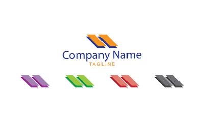 Striped Logo Vector