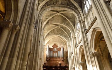 Ile de France, picturesque city of Poissy