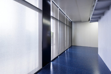 corridor in moder office building
