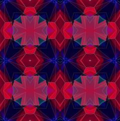 Abstract background pattern, kaleidoscope