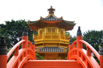 Golden Pavilion of Absolute Perfection in Nan Lian Garden