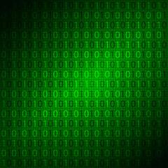 digital background with matrix