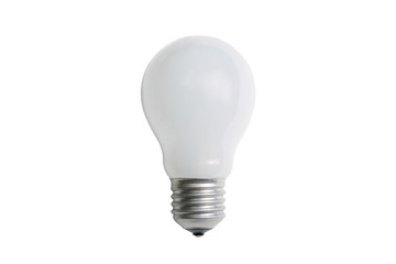 Incandescent matt light bulb E27