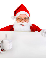 Santa Claus with the Board