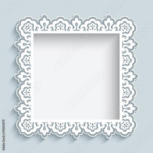 Рамка дляграфий из бумаги
