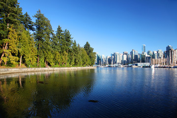 Wall Mural - The city of Vancouver in British Columbia, Canada