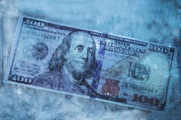 Dollar frozen