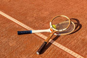 tennis vintage rackets