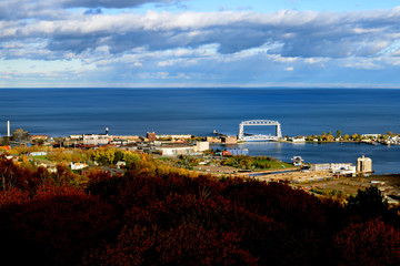 View of Duluth in Fall