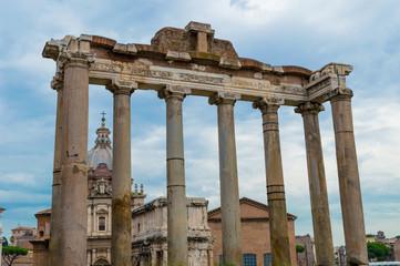 Italy, Rome, Roman forum