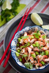 Asian style healthy salad