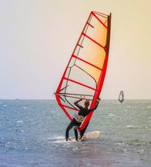 Extreme Sports Windsurfing