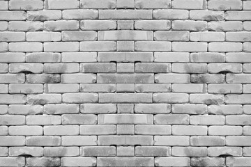 Abstract  white brick wall backgrounds.