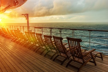 Cruise Ship Deck Chairs