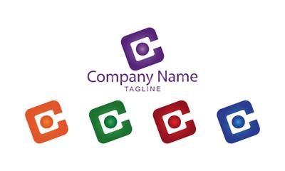 C Technology Logo Vector