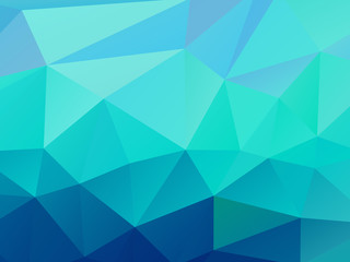 Triangle Background Blue