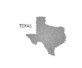 Concept map of Texas