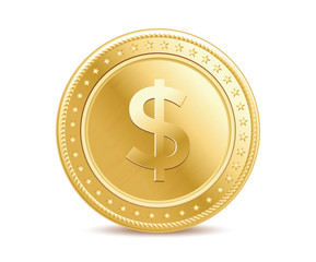 Golden dollar coin
