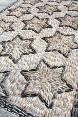 Pavement en galets - Andalousie (Espagne)