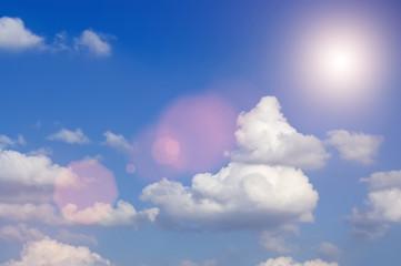 beautiful cloudscape background