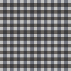 Checkered tablecloths black