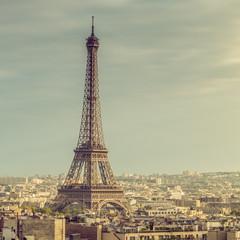 Poster de jardin Paris Paris Tour Eiffel