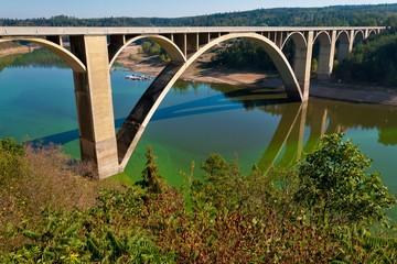 Podolsky bridge,Czech republic, Europe