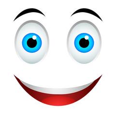 Smile emoticon sign