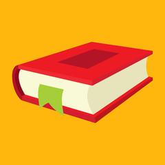 Nice book flat icon