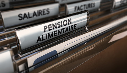 Pension alimentaire, divorce.
