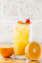 Orange cocktail / orange juice