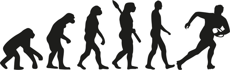 Rugby player evolution