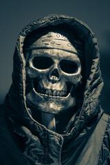 skull in halloween